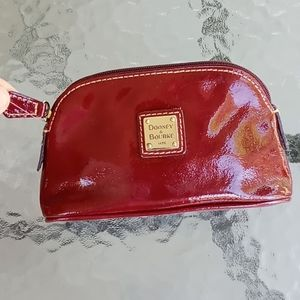 Dooney & Bourke Red Leather Coin Purse